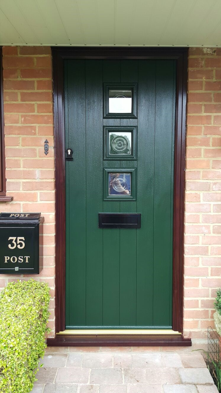 green solidor rosewood frame